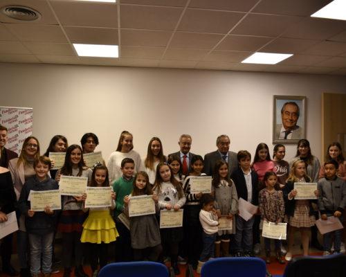 foto sala excelencia. todos premiados Zaragoza